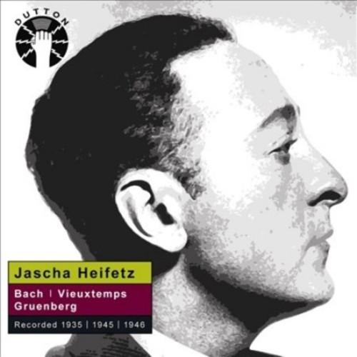Jascha Heifetz plays Bach & Vieuxtemps [CD]