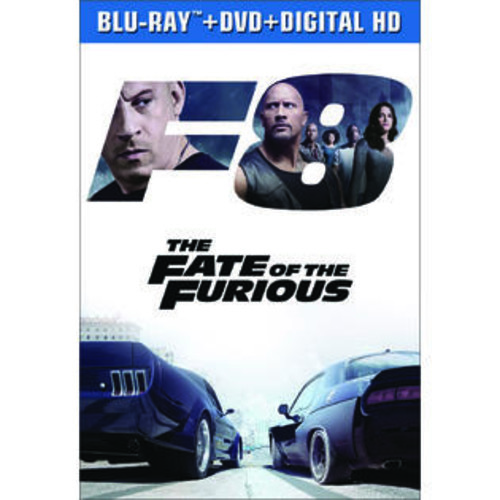 Universal Studios The Fate of the Furious Blu-Ray Combo Pack (Blu-Ray/DVD/Digital HD)