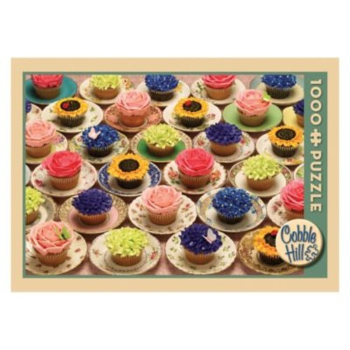 Cobble Hill Puzzle Company Cupcakes and Saucers 1000-Piece Puzzle