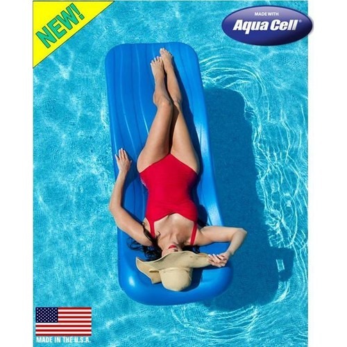 Aqua Cell Cool Pool Deluxe Float - Aqua