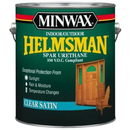Minwax 1 gal. Clear Satin Helmsman Indoor/Outdoor Spar Urethane (2-Pack)