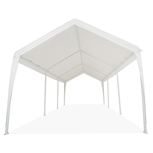 Impact Canopy 10-Foot x 20-Foot Instant Carport in White