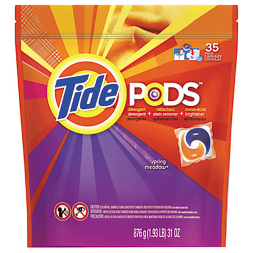 Tide 3-1 Pods Laundry Detergent, 31 Oz, Pack Of 35