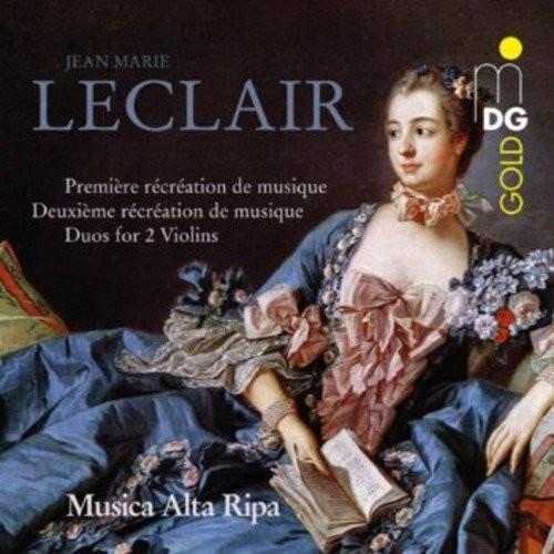 Leclair: Premire & Deuxime Rcration de Musique [CD]