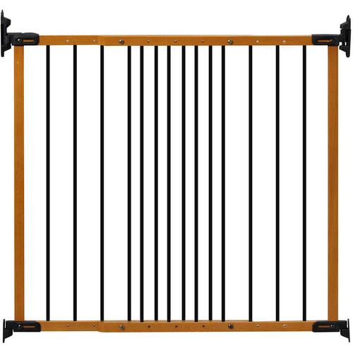 Kidco Designer Angle Mount Safeway Pet Gate [Oak]