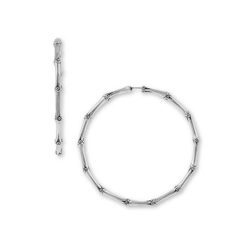 'Bamboo' Large Hoop Earrings