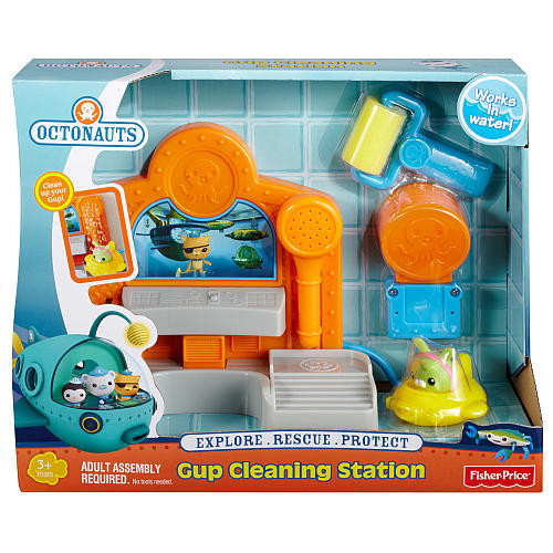 Fisher-Price Bubble Guppies - Gup Cleaning Station