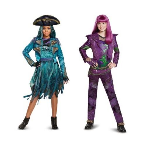 Disney's The Descendants Girls Lonnie Coronation Deluxe Kids Costume
