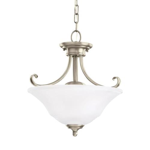 Sea Gull Lighting Parkview 2-Light Antique Brushed Nickel Pendant