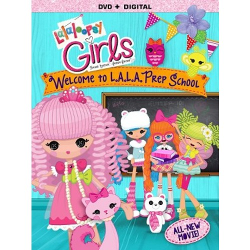 Lalaloopsy Girls: Welcome to L.A.L.A. Prep School (DVD)