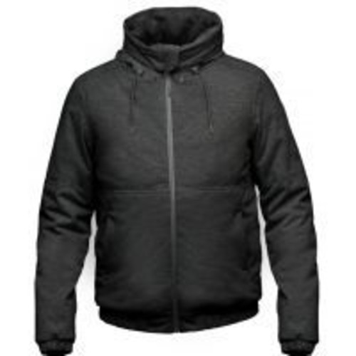 Nobis Andre Insulated Hoodie - Men's, Jacket Style: Urban, Urban Insulated, Insulation: 650 Fill Duck Down w/ Free Shipping [Mens Clothing Size : Large]