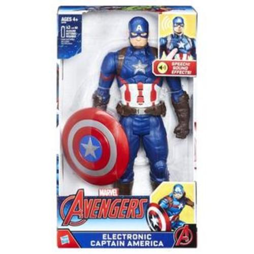 Hasbro,Disney,Marvel Marvel Avengers 12 inch Action Figure - Electronic Captain America