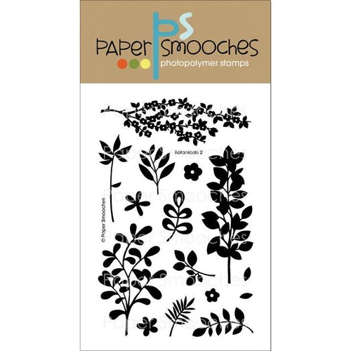 Paper Smooches 4 X6 Clear Stamps - Botanicals 2