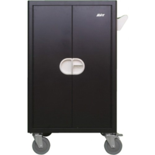 Aver 36 Device Economy Charging Cart - 4 Casters - 5
