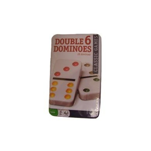 Cardinal Classic Games - Double Six Color Dot Dominoes