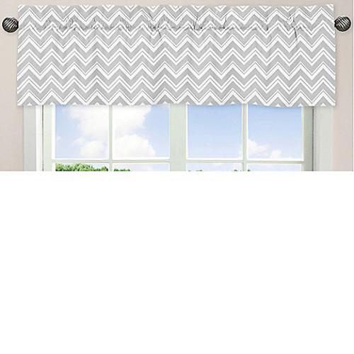 Sweet Jojo Designs Zig Zag Window Valance