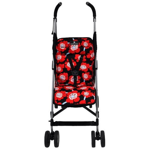 Balboa Baby Stroller Liner, Red Poppy (Discontinued by Manufacturer)
