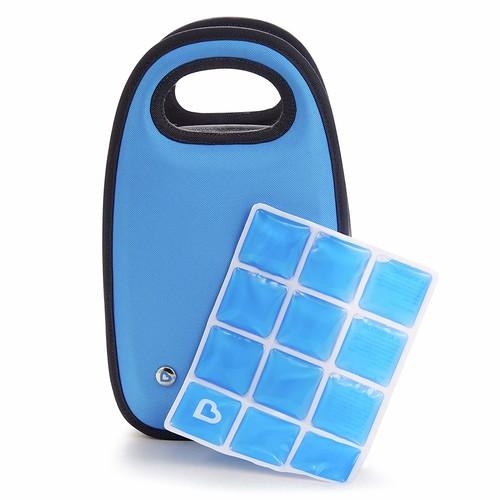 Munchkin Cool Bottle Bag, Blue : Baby [Blue, 1]