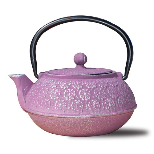 Dutch Cherry Blossom 2.75-Cup Teapot in Plum