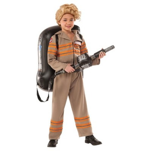 Ghostbusters Movie: Ghostbuster Deluxe Halloween Costume - Child Size