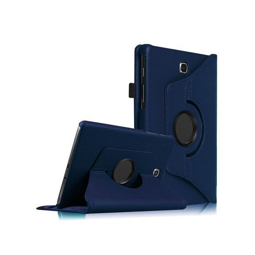 Fintie Samsung Galaxy Tab A 8.0 SM-T350 Tablet Rotating Case Stand Cover with Auto Sleep/Wake, Navy