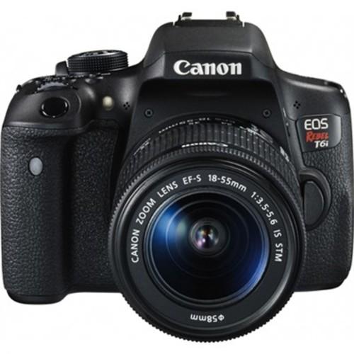 Canon EOS Rebel T6i Digital SLR Camera with EF-S 18-55mm IS STM Lens Kit Refurbished