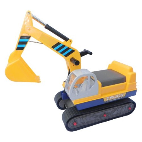 Vroom Rider Ride-on Tracks Excavator Riding Push Toy