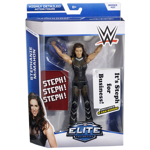 WWE Stephanie McMahon - Elite 37 Toy Wrestling Action Figure