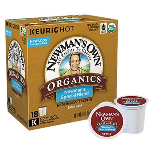 man's Own Organics Special Blend Coffee Keurig K-Cup pods 18ct