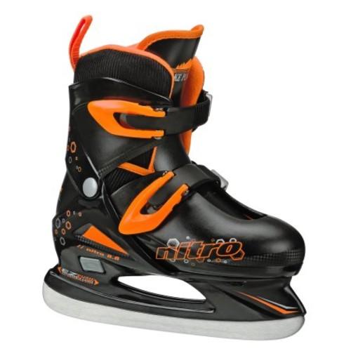 Lake Placid Nitro 8.8 Boys Adjustable Figure Ice Skate Large