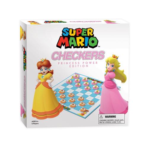 USAopoly Nintendo Super Mario Princess Power Edition Checkers Game