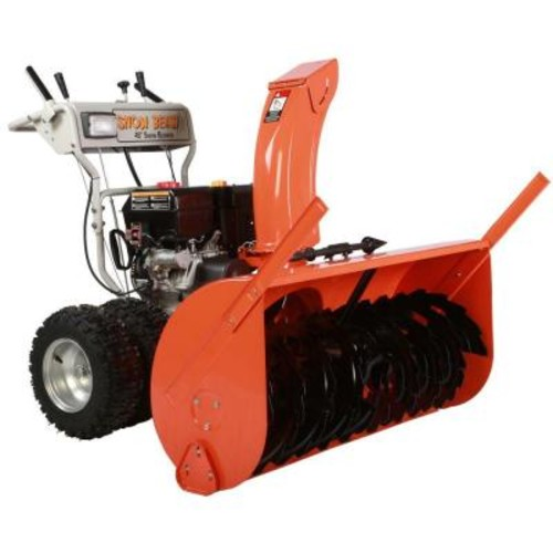 Beast 45 in. Commercial 420cc Electric Start 2-Stage Gas Snow Blower w/Headlights, Bonus Drift Cutters and Clean-Out Tool