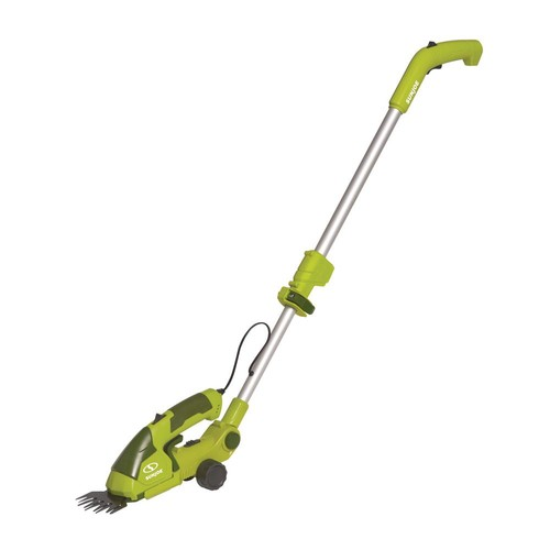 Snow Joe 7.2-Volt 2-in-1 Cordless Grass Shear and Hedge Trimmer with Extension Pole