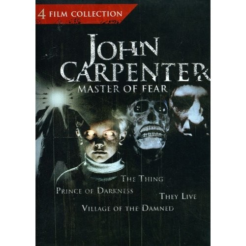 John Carpenter: Master of Fear - 4 Film Collection (The Thing / Prince of Darkness / They Live / Village of the Damned)