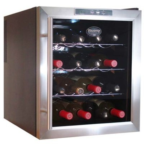 16 Bottle Thermoelectric Wine Cooler by Vinotemp