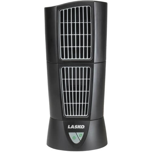 Lasko Desktop Wind Tower - Black Lasko 4910 Desk Top Wind Tower Fan