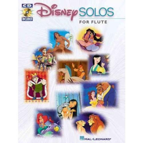Disney Solos for Flute (Book & CD-ROM)
