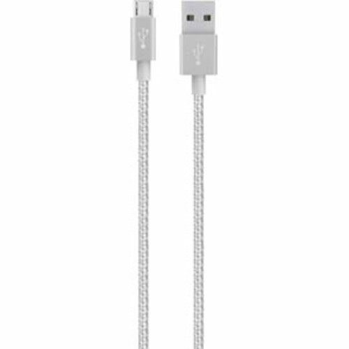 Belkin MIXIT Up Metallic Micro-USB to USB Cable - Silver