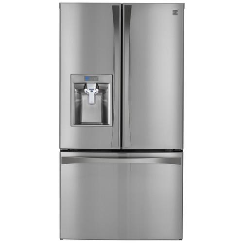 Kenmore Elite 73153 28.7 cu. ft. French Door Bottom Freezer Refrigerator  Stainless Steel