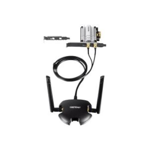 TRENDnet TEW-807ECH - Network adapter - PCIe - 802.11b, 802.11a, 802.11g, 802.11n, 802.11ac