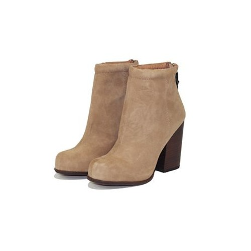 Rumble Taupe Wedge Boot