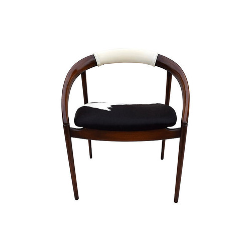 Danish Modern Cowhide Chair