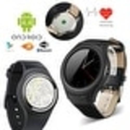 Indigi #1 Stylish 3G Smart Wrist Watch Unlocked Phone Android 4.4 WiFi Google Play Store Heart Rate Monitor Pedometer