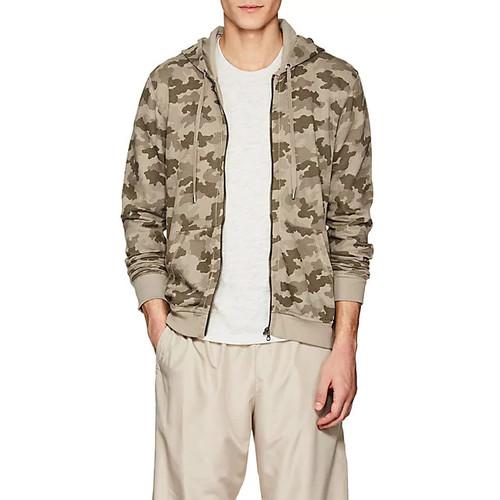 ATM Anthony Thomas Melillo Camouflage Cotton Terry Hoodie