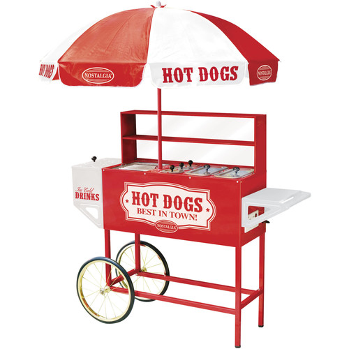 Nostalgia HDC701 48-Inch Hot Dog Vending Cart [None, Vendor Cart]
