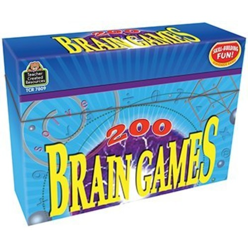 Teacher Created Resources 200 Brain Games (7809)