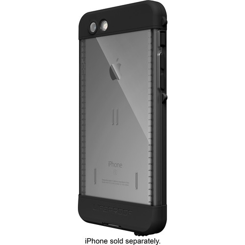 LifeProof - nuud for iPhone 6s Plus case - Black