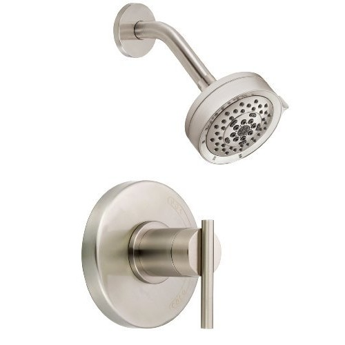 Danze D512558BNT Parma Single Handle Shower Trim Kit, 2.0 GPM, Valve Not Included, Brushed Nickel [Brushed Nickel]