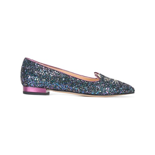 CHARLOTTE OLYMPIA 'Mid Century Kitty' Slippers