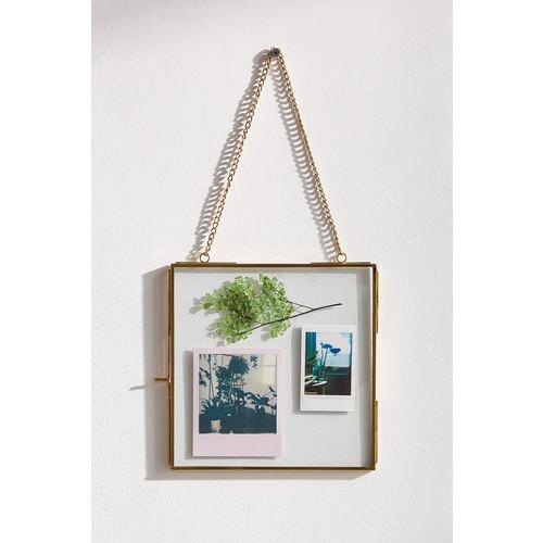 Hanging Glass Display Frame - 8x8 [REGULAR]